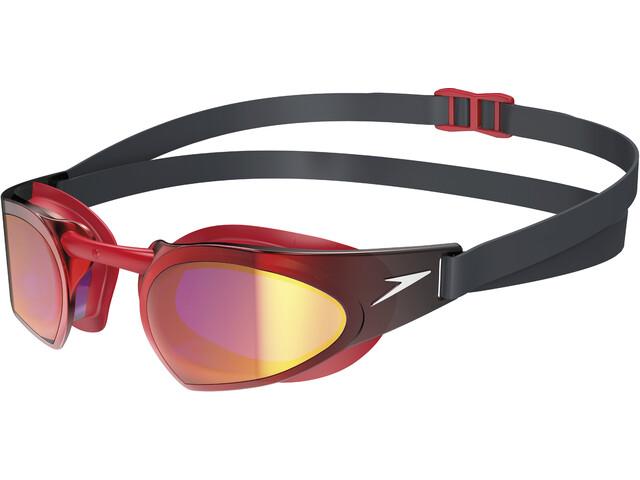 speedo Fastskin Prime Lunettes de protection, white/red